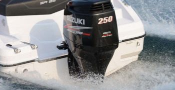 Outboard engine / 250 hp / 4-stroke