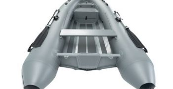 Quicksilver Inflatables 350 ALU-RIB grey back