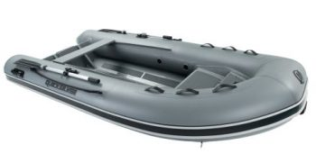 Quicksilver Inflatables 350 ALU-RIB grey side