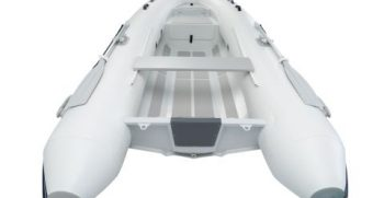 Quicksilver Inflatables 350 ALU-RIB white back