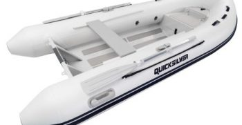 Quicksilver Inflatables 350 ALU-RIB white side