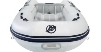 Quicksilver Inflatables 350 ALU-RIB white top