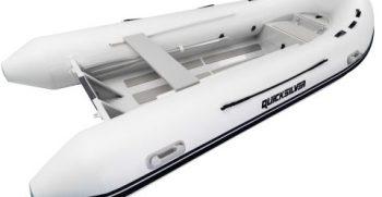 Quicksilver Inflatables 380 ALU-RIB white side