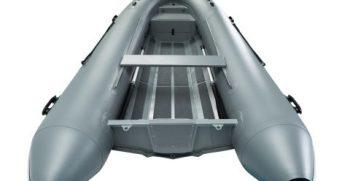 Quicksilver Inflatables 420 ALU-RIB grey back