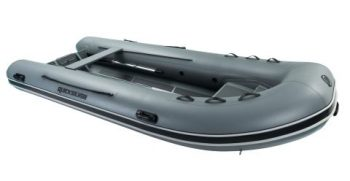 Quicksilver Inflatables 420 ALU-RIB grey front