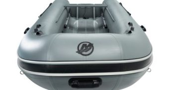 Quicksilver Inflatables 420 ALU-RIB grey top