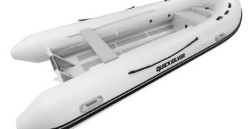 Quicksilver Inflatables 420 ALU-RIB white 3-4