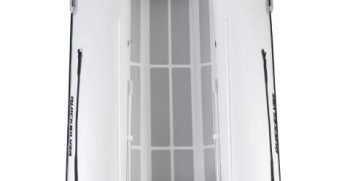 Quicksilver Inflatables 420 ALU-RIB white up